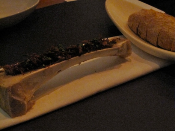 Bone Marrow and bread