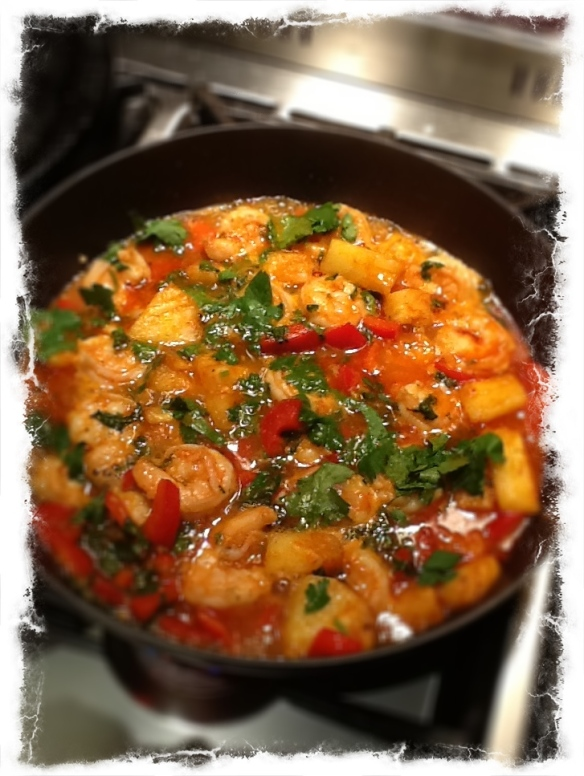 Prawn & Pineapple Thai curry
