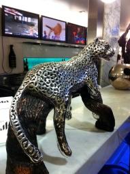 Silver sculptures