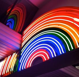 Enter under the rainbow