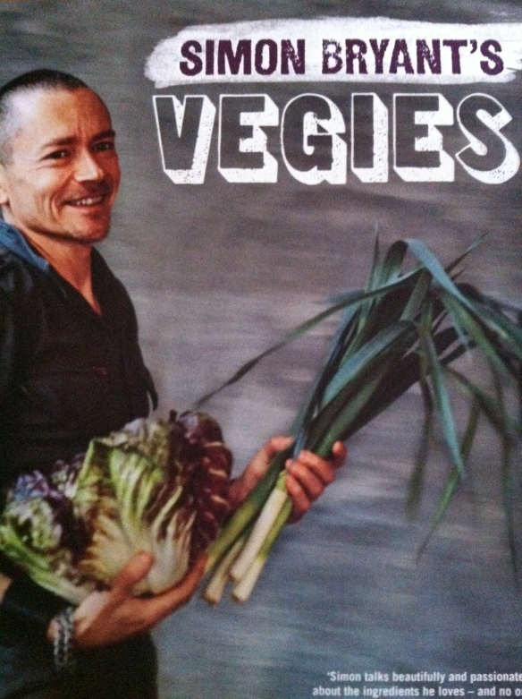 Simon Bryant's Vegies cookbook