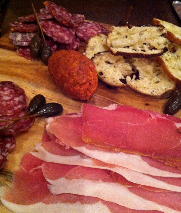 House-made cured meats