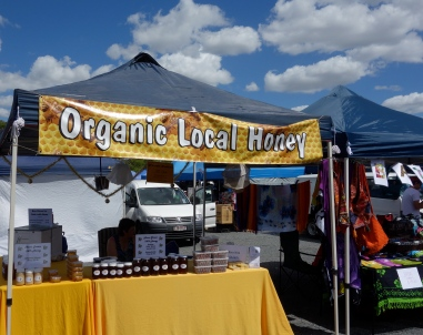 Organic local honey