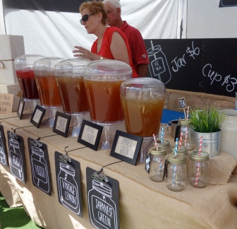 Delicious iced tea served in a plastic up or a mason jar