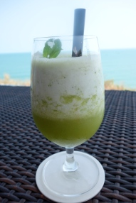 Pineapple, mint and ginger